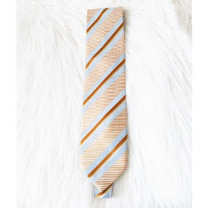 Scappino 100% Pure Silk Striped Pattern Hand Made
